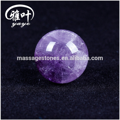 Natural 25MM Amethyst Spheres/Balls