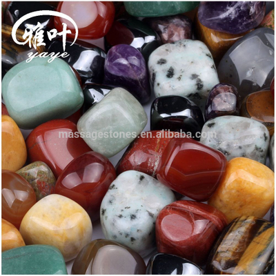 Natural agate rough stone natural quartz gemstone tumbled stone for wholesale