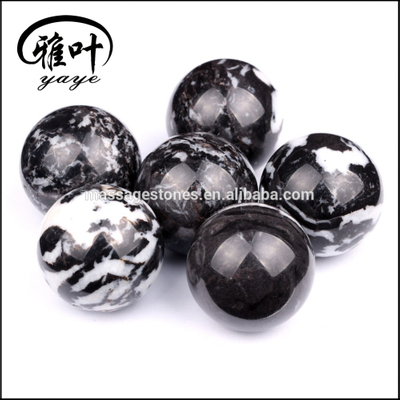 Natural Zebra Jasper Gemstones Balls