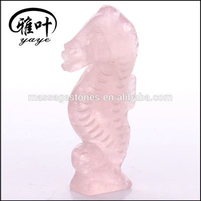 Natural Gemstones Animal Figurines/Carved Seahorses Statues/Figurines
