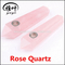 Natural Rose Quartz Crystal Smoking Pipes