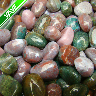 Wholesale Price decorative gemstones Reiki Bloodstone Stone/Tumbled stones Reiki Bloodstone Stone