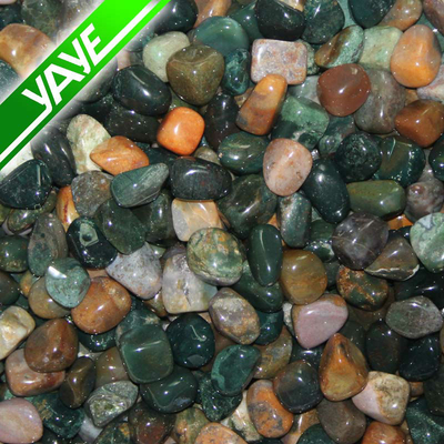 Highly polished tumbled stones Indian Agate