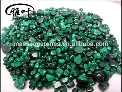 Wholesale Natural Malachite Stones for Home Decorations