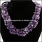 Wholesale chip stone beaded crushed semi-precious stone necklace