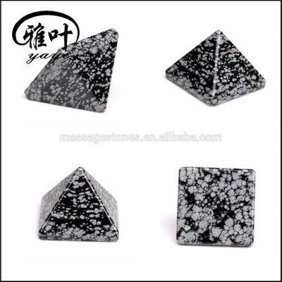 Wholesale Pyramids Metaphysical Gemstone Supplier/Wholesaler Snowflake Obsidian