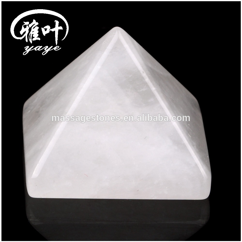 Wholesale Decoration Clear Quartz Crystal Healing Pyramid