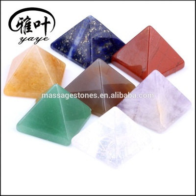 Wholesale Assorted Customized Natural Gemstones Pyramid for gift