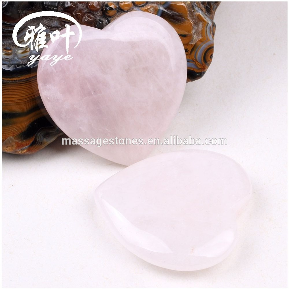 Wholesale Natural Rose Quartz Heart Shape