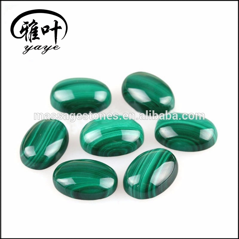 Natural Malachite Custom Shape Gemstone Cabochon forJewelry Making