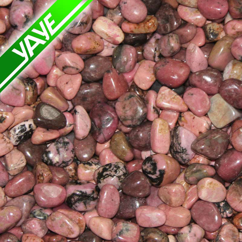 Rhodonite Tumbled stones Healing Stone Wholesale Price