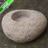 Natural River Stones Candle Holder
