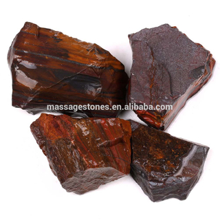 Natural Red Tiger Eye Fine Rough Stone For Gifts Wholesale