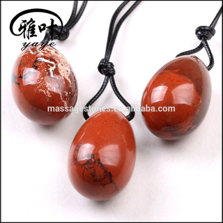 Natural Red Jasper Yoni Egg For Kegel Exercise
