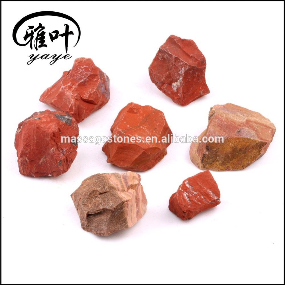 Wholesale Natural red jasper stone Rough Stone