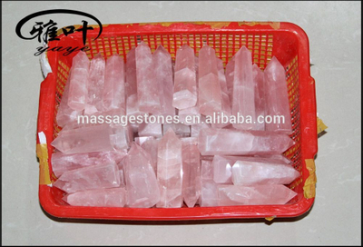 Natural Gemstones Quartz Crystal Chakra Healing wands