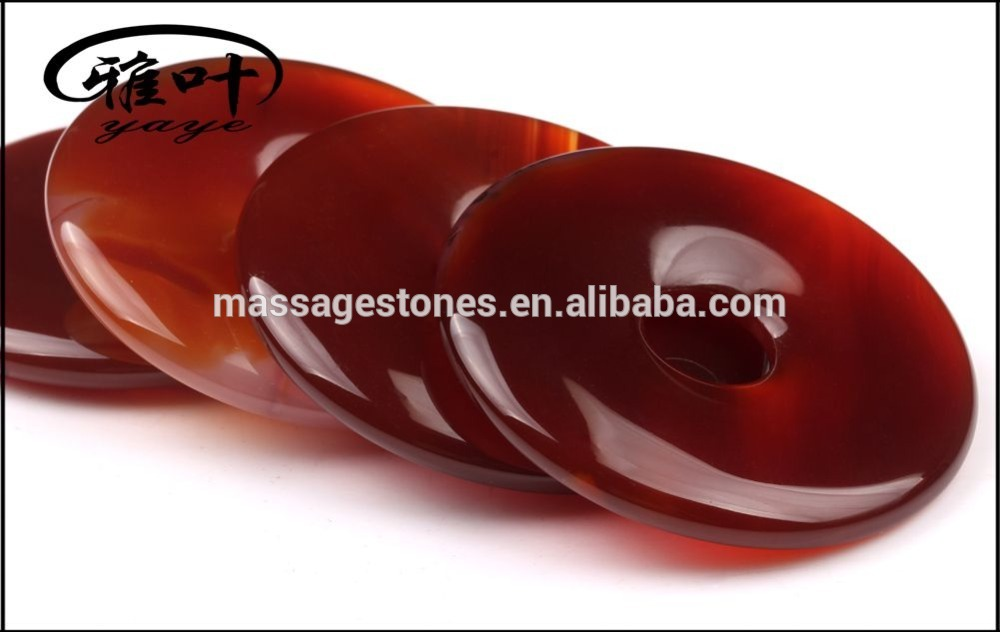 Wholesale Dyed Carnelian Donut Shape for Pendant