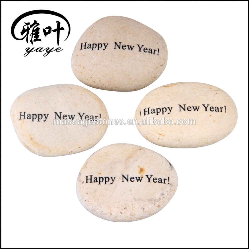 Happy New Year/Christmas Gifts Natural Unpolished Garden Rock