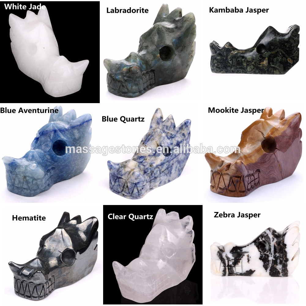Customized Productions for Gemstones Animal Carvings