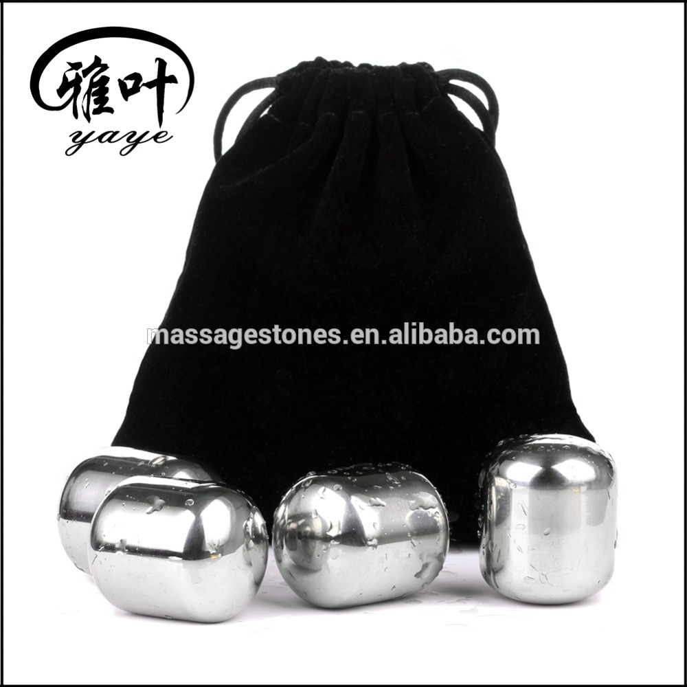 Customized Ice Cube Stones Stainless Steel Whisky Stones