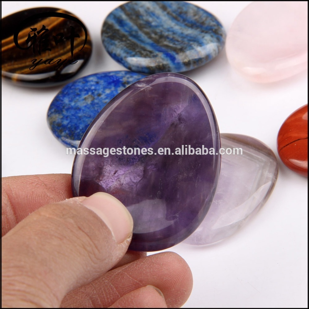 Wholesale Amethyst worry stones
