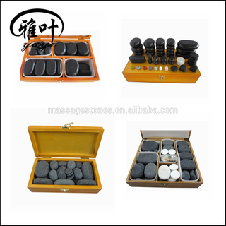 Kit Stone Massage for Body/Face/Foot/Back/Shoulder/Neck Massage Therapy