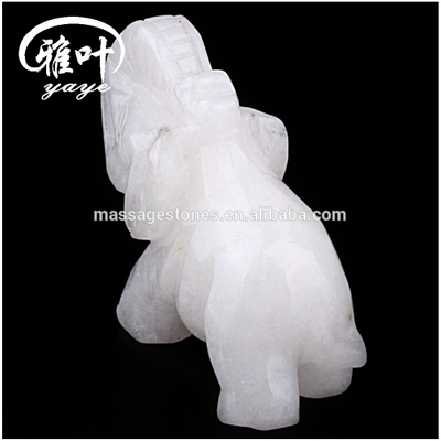 Bulk Wholesale Gemstones Jade Feng Animal Carvings/Elephant Figurines