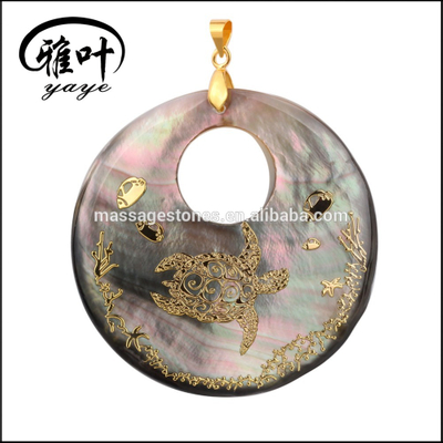 2016 New Design Fashion Jewelry Handmade Shell Pendant
