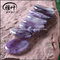 Highly Polished Amethyst Palm Stone Amethyst Crystal Stone for Decoration