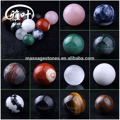 Wholesale Natural Rock Hand Carved Semi-precious Crystal Carving Sphere In Crystal Crafts