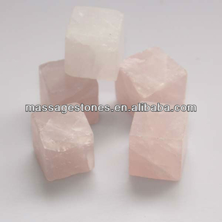 Party Bar Accessories Natural Rose Marble Ice Cube Whiskey Stone