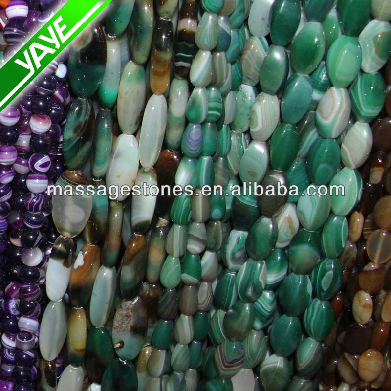 Wholesale Agate Tumblestones Gemstones Jade 6 mm Mixed Semi precious Stone beads