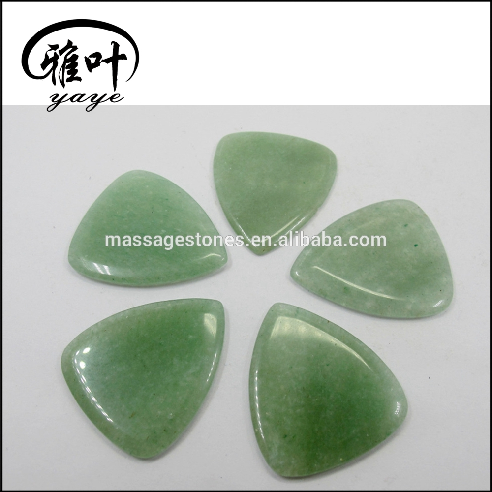 Wholesale Gemstones Drilled Guitar Picks Pendant