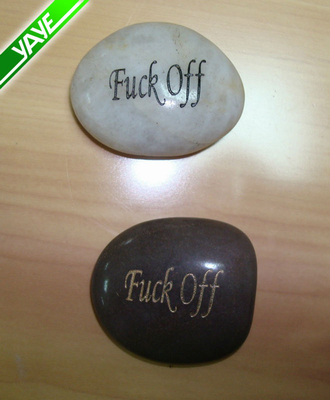 inspirational stones wholesale Engraved river stones with Word