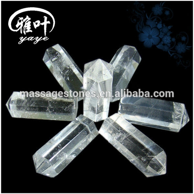 Natural Clear Crystal Quartz Gemstones Wands Chakra Wands Healing Wands