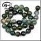 Wholesale Indian Moss agate beads landing beads for jewelry making