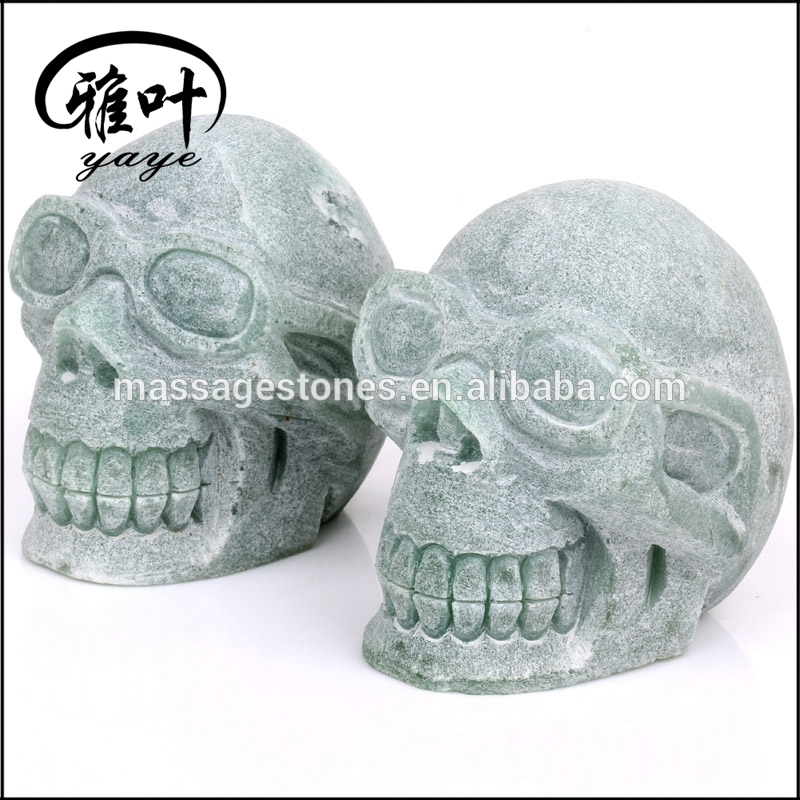 1-6'' Human Skulls Carvings/Stone Skulls Carvings