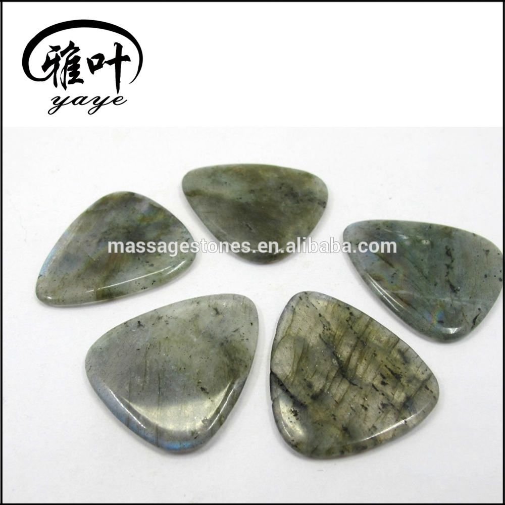 Wholesale Semi-Precious Stone Guitar Picks Custom Stones Guitar Picks