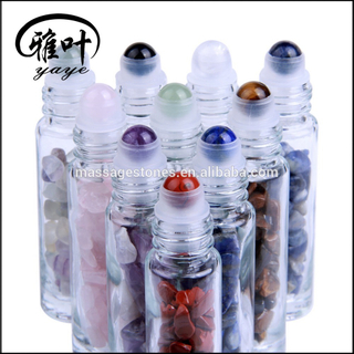Bulk Wholesale Natural Gemstones Roller Ball Gemstone Roller Bottle