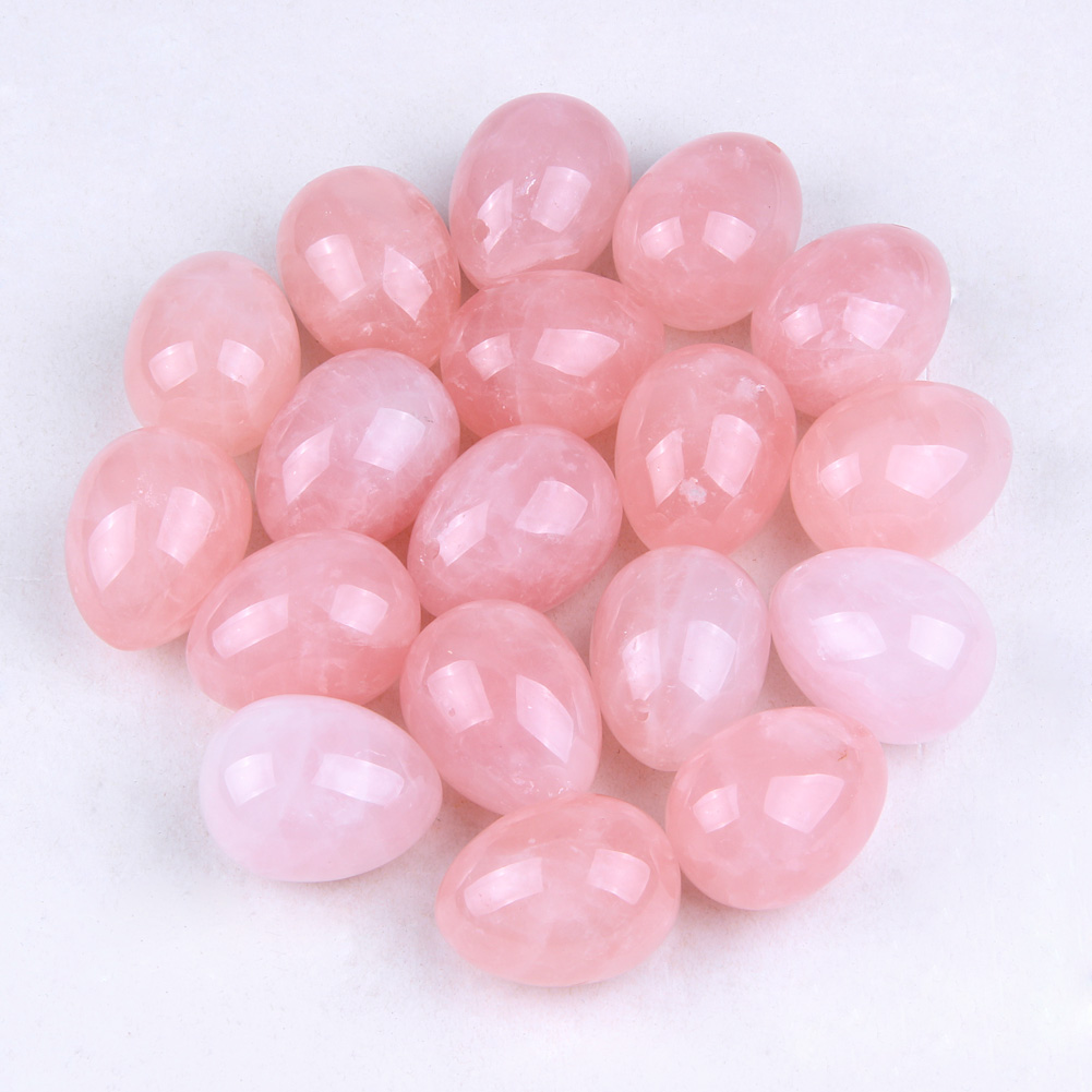 Rose Quartz Yoni Eggs